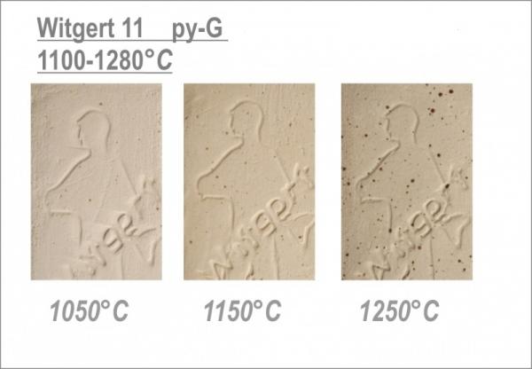 "№11 py-G ""white with spots"", каменная масса Witgert, 10 кг"