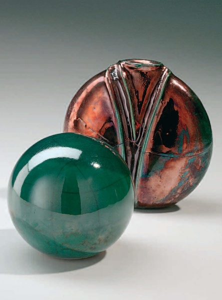 1917 Зелёная раку-глазурь Terracolor