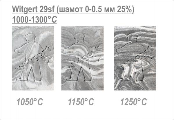 """№29 sf """"Vintage"""", шамотная масса 25% (0-0,5 мм) Witgert"""