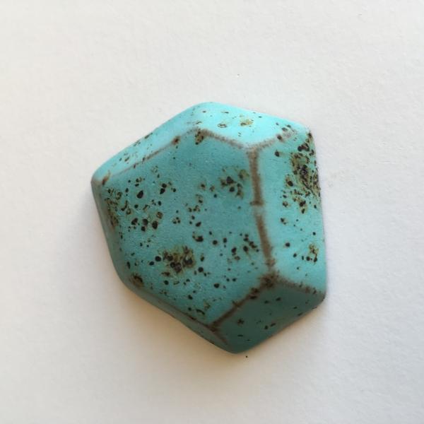 7845 Бирюзовые крапинки глазурь Terracolor