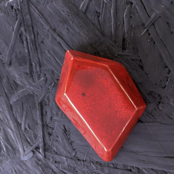 7966 Красный кардинал глазурь Terracolor