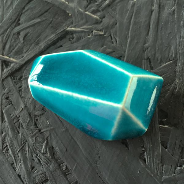 7992 Бирюзовая кракле глазурь Terracolor