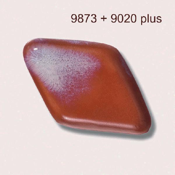 9873 Красная киноварь глазурь Botz