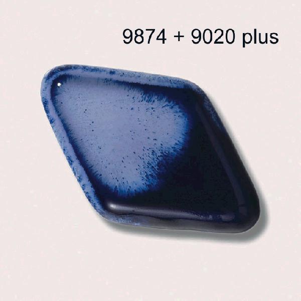 9874 Ультрамарин глазурь Botz