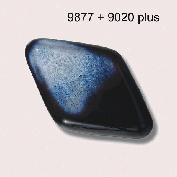 9877 Черная блестящая глазурь Botz