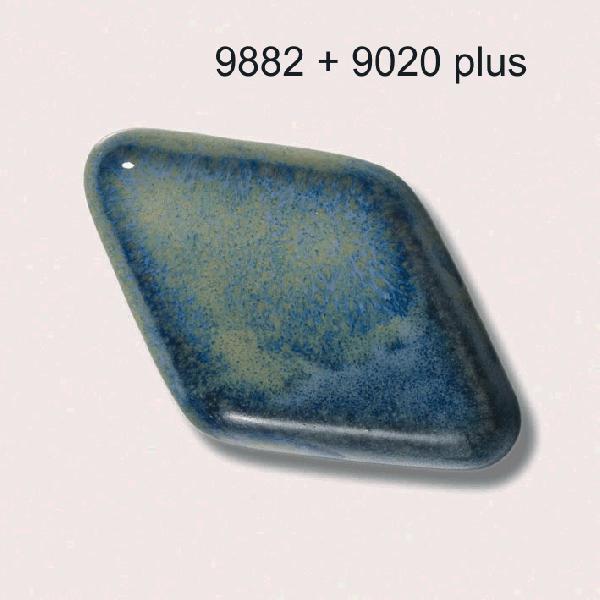 9882 Серо-голубая глазурь Botz
