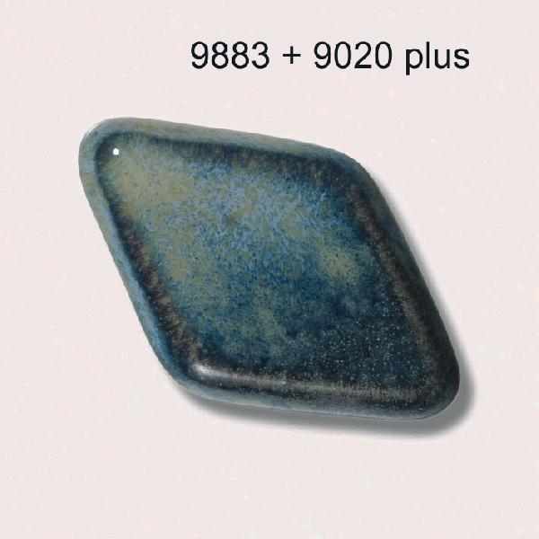 9883 Черно-синяя глазурь Botz