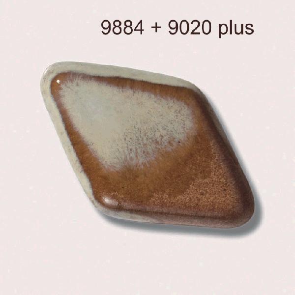 9884 Светло-коричневая глазурь Botz