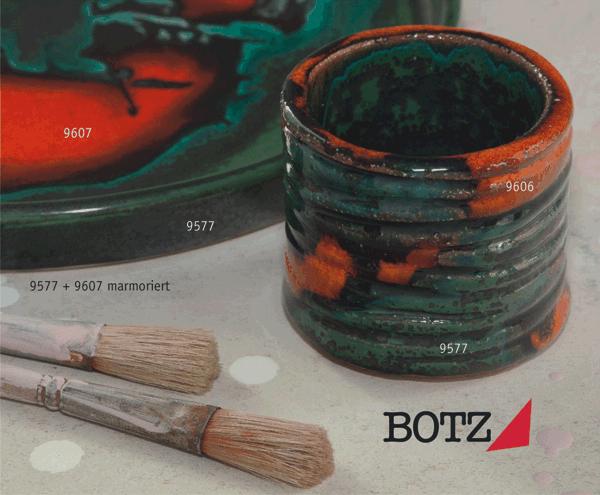 9577 Рептилия глазурь Botz