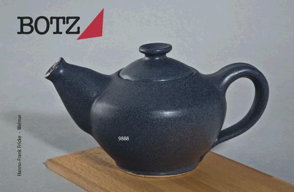 9888 Черный гранит глазурь Botz
