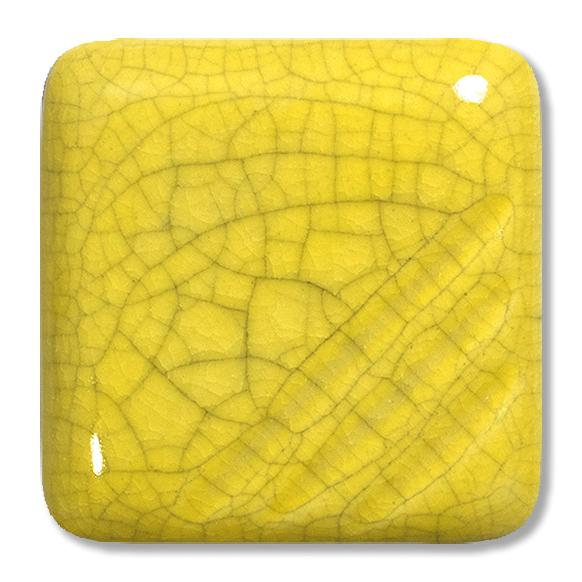 FG-1055 Жёлтая кракле глазурь Terracolor