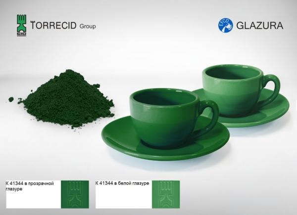K 41344 Яркий зелёный пигмент Cr-Al