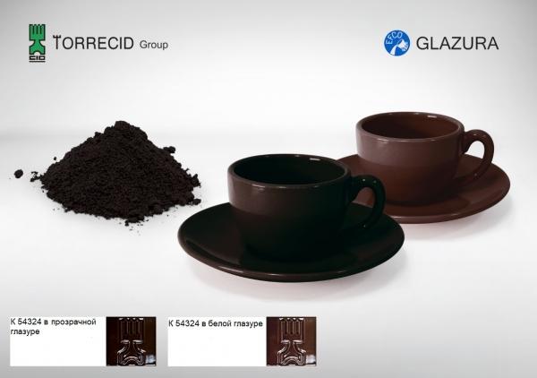 K 54324 Шоколадно-коричневый пигмент Cr-Fe-Mn
