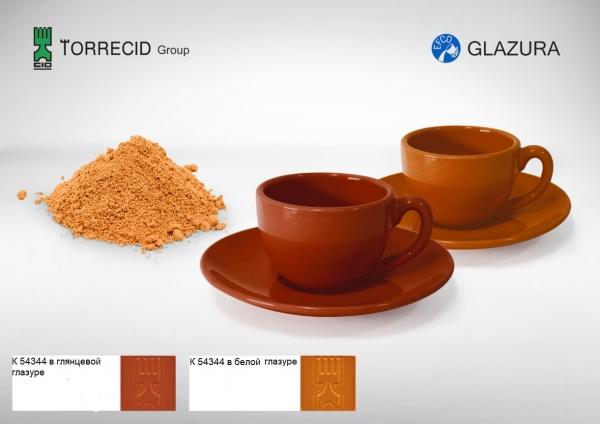 K 54334 Оранжево-коричневый пигмент Cr-Fe-Mn