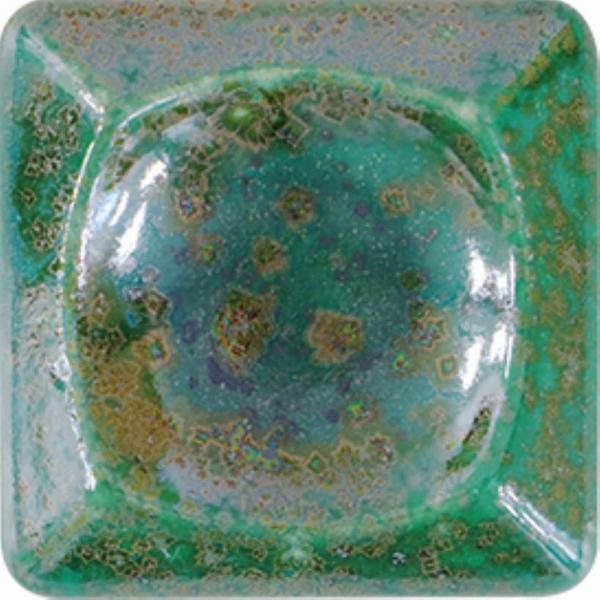 KGE 232 Зелёный металл глазурь WELTE