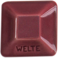 KGG 59 Бордово-красная глазурь WELTE