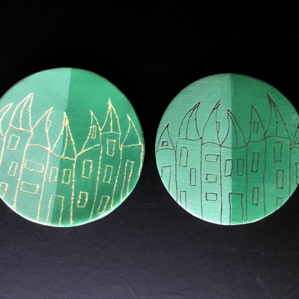 9051 Темно-зеленый ангоб Botz