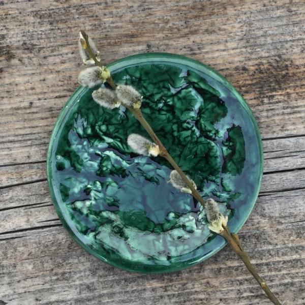 9343 Бутылочная зеленая глазурь Botz
