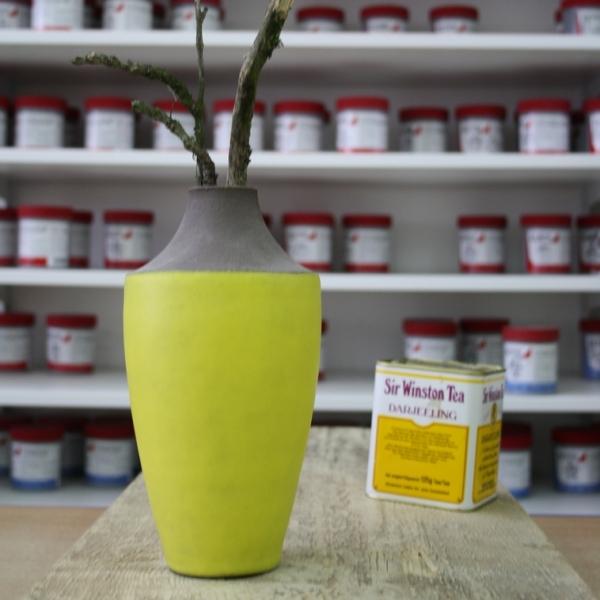 9487 Желтая матовая глазурь Botz