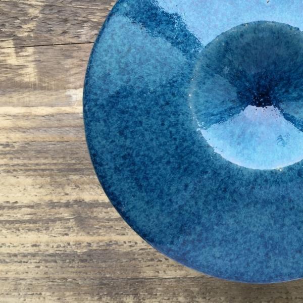9542 Голубой эффект глазурь Botz
