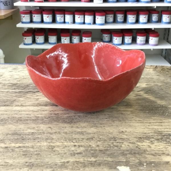 9602 Огненно-красная глазурь Botz