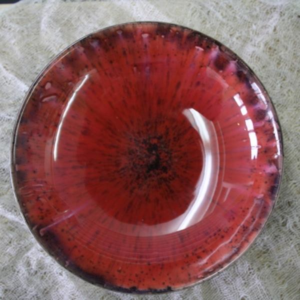9605 Красная с точкой глазурь Botz