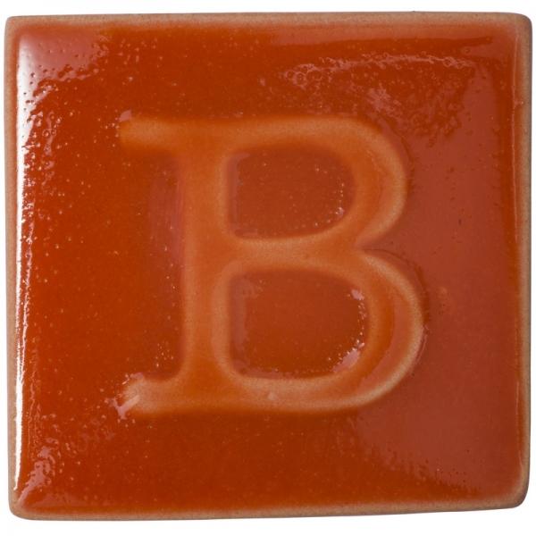 9610 Красно-оранжевая глазурь Botz