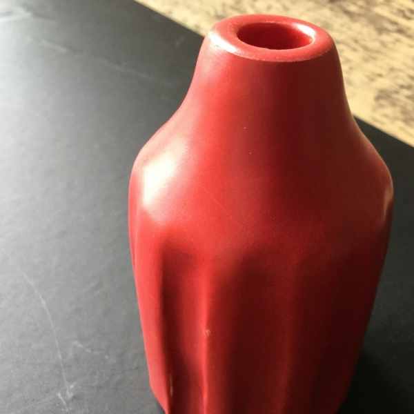 9612 Красная матовая глазурь Botz