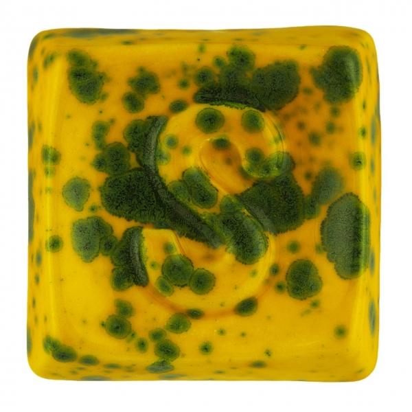 GL 198 Желтая мерцающая глазурь Seramiksir