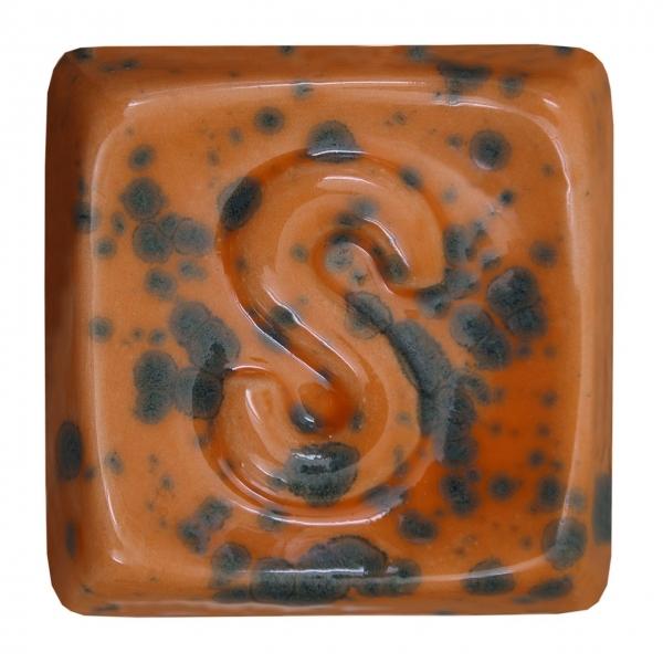 GL 702 Оранжевая мерцающая глазурь Seramiksir