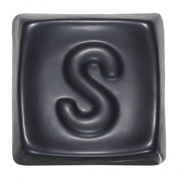 MT 278 Черная матовая глазурь Seramiksir
