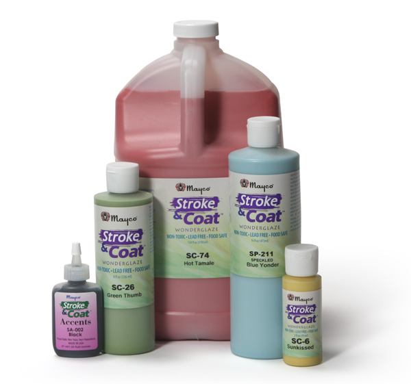 SC-1 Pink-A-Boo (Stroke & Coat) глазурь Mayco