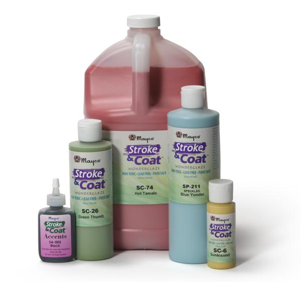 SP-201 Розовая в крапинку (Stroke & Coat) глазурь Mayco