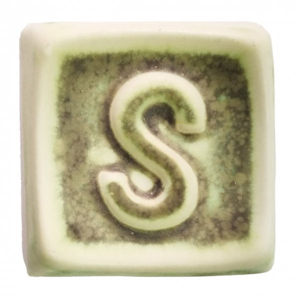SP 1128 Античный матовый зеленый глазурь Seramiksir
