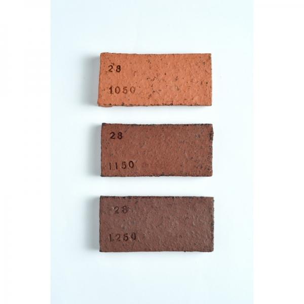 "№28 ""Red Stone""красно - коричневая шамотная масса 25% (0,5-2 мм) Witgert"